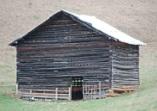 Bull Face barn D Nelson Anderson
